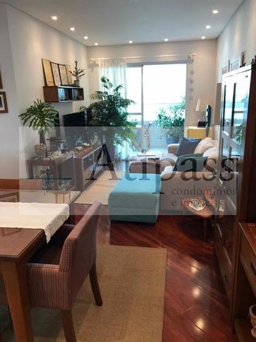 Imagem 1 de 15 de Apartamento 93m². - Locação - São Bernardo, Centro, 3 Quartos (1 Suíte), 2 Vagas - At1109