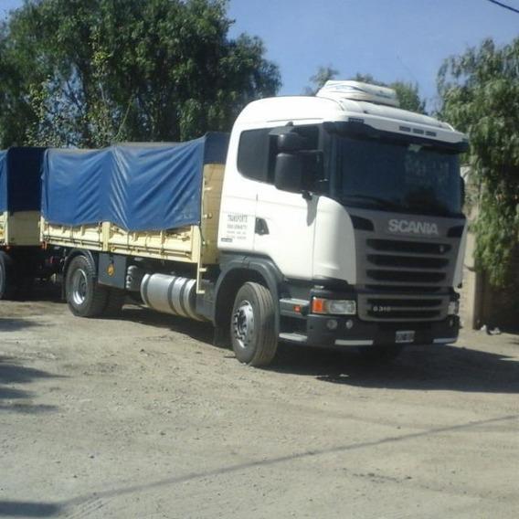 Scania G 310 2014. Primera Mano