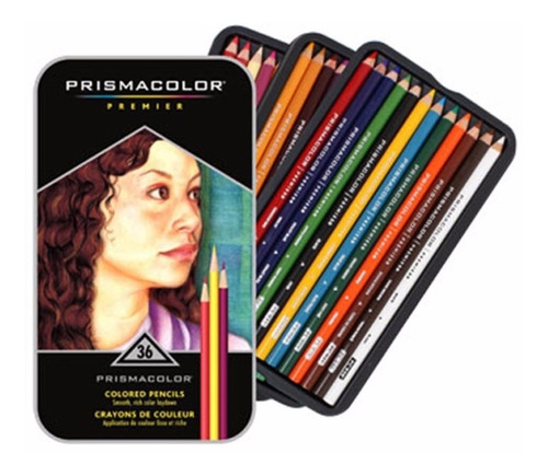 ¡ Prismacolor Premier 36u Caja De - Unidad a $5500