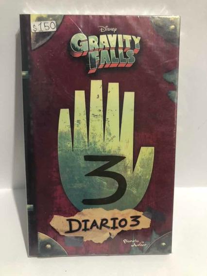 Libro Gravity Falls Diario 3 / Disney - Nuevo