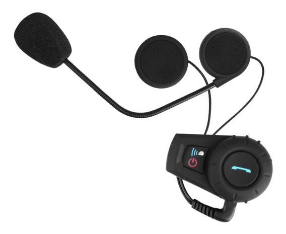 Intercomunicador Bluetooth Kit Manos Libres Casco Moto