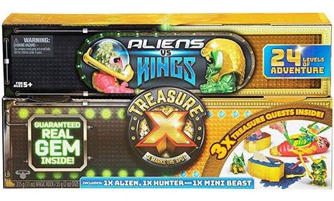 Treasure X: King's Gold - Aliens Vs Kings