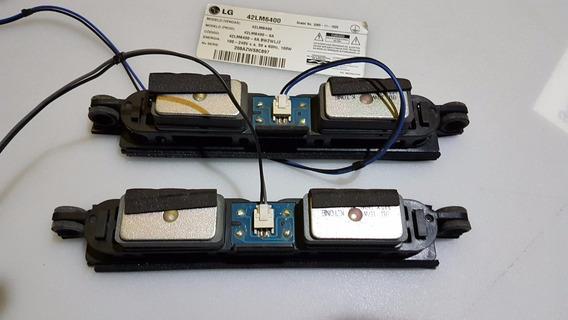Alto-falantes Ebz61598801 Tv Lg 42lm6400 47lm6400