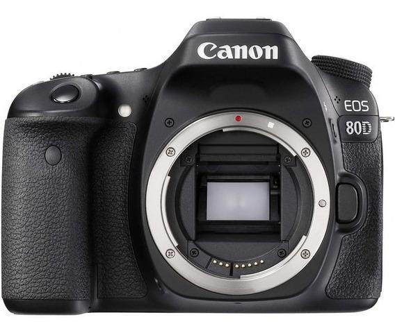 Corpo Câmera Dslr Aps-c Canon Eos 80d