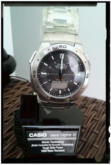 Relógio De Pulso Casio Wave Ceptor