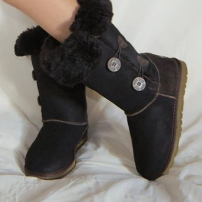 Bota Feminina Pele Ovina Illi Boots - 1006 Cano Medio