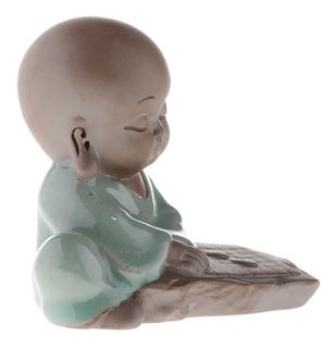Bebé Buda Asiático Bandeja De Té Decoración Estatua