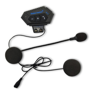 Intercomunicador Para Moto Bluetooth 4.0 Bt12 Control Llamad