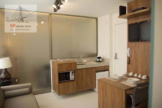 Apartamento Para Alugar, 30 M² Por R$ 4.015,02 - Vila Olímpia - São Paulo/sp - Ap13664