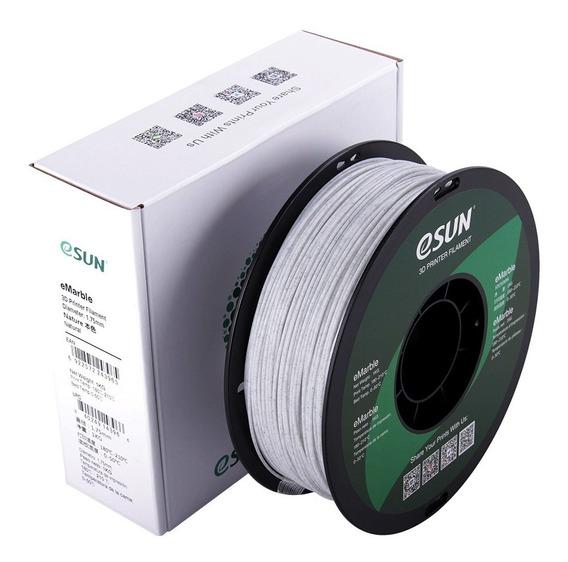 Filamento Pla Esun Emarble 1.75mm 1kg Premium Impressora 3d