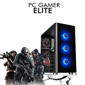 Pc Gamer Elite - Intel Core I5-8600k Gtx 1050ti 4gb 1tb, 8gb