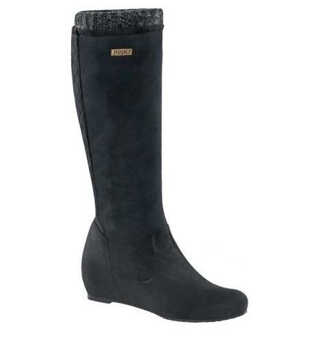 a60ba3a9 Bota Larga Para Dama Pink By Price Shoes Negro 169317 B-18 - $ 801.00 en  Mercado Libre