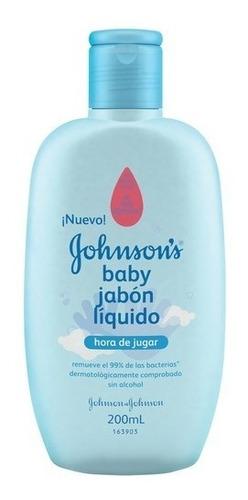 Jabón Liquido Hora De Jugar Johnsons Baby 200ml X 12unidades
