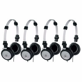 Kit 4 Fones De Ouvido Headphone Akg Profissional K414p Dj