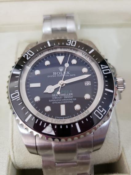 Relógio Rolex Deepsea Gas Escape Automático A Prova D