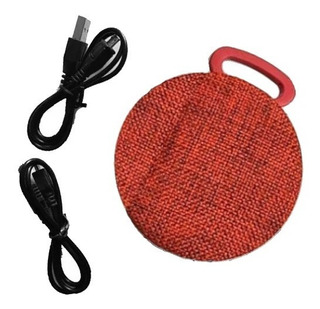 Mini Parlante Portatil Bluetooth Global 3w Rojo
