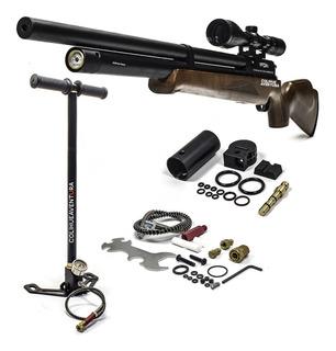 Rifle Pcp Fox M22 Hunter Cal 6,35mm + Inflador Fox 300bar