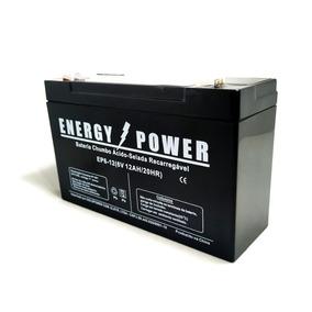 Bateria Selada 6v 12ah Power Battery Bandeirantes Biemme