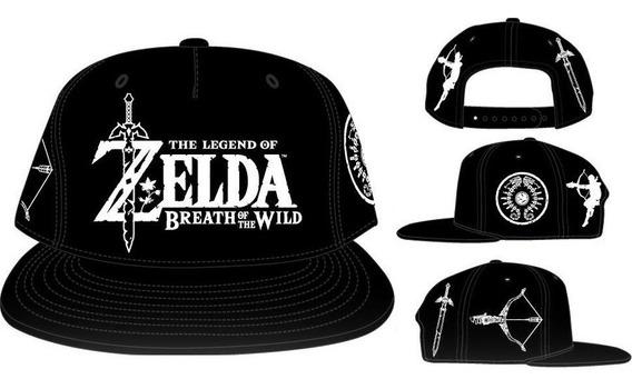 Gorra Bow The Legend Of Zelda Breath Of The Wild Original