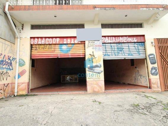 Sl0022-salão Para Alugar, 70 M² Por R$ 3.800/mês - Pestana - Osasco/sp - Sl0022