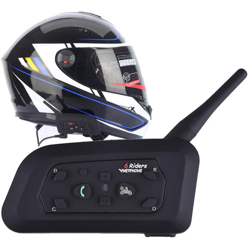 Intercomunicador Para Moto Con Manos Libres Bluetooth ®