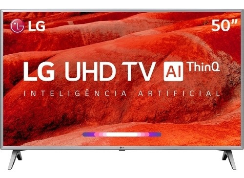 Smart Tv Led Ultra Hd 4k 50 Polegadas Lg 50um7510 Pix90