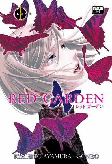 Mangá Red Garden Vol. 1 E 2 Newpop Bom Estado Frete Incluso