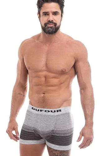 Imagen 1 de 10 de Pack De 6 Boxers Dufour Sin Costuras Surtidos Tiro Corto