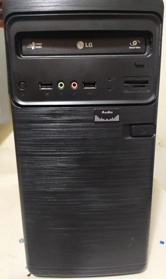 Computador I3 Completo Com Monitor 19 E Vários Acessórios