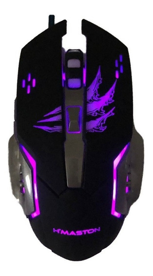 Mouse Gamer Led 3200 6 Botões League Of Legends,fortinite