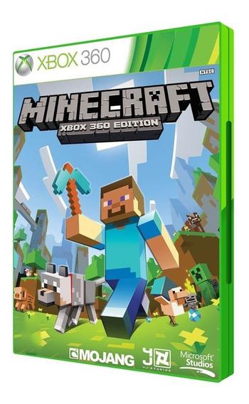 Jogo Minecraft Xbox 360 Original Mídia Fisica Game Lacrado