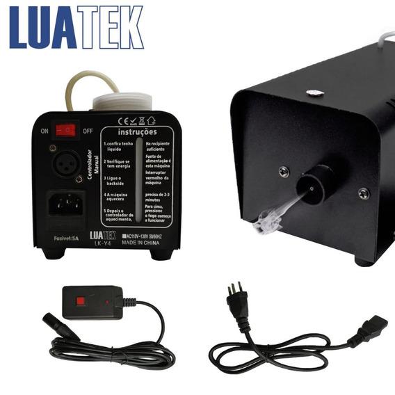Maquina Fumaça Luatek 600w Lk-y4 Controle Sem Fio Oferta