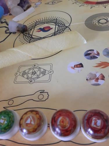 Imagem 1 de 3 de Mesa Radionica Com Cone Hindu