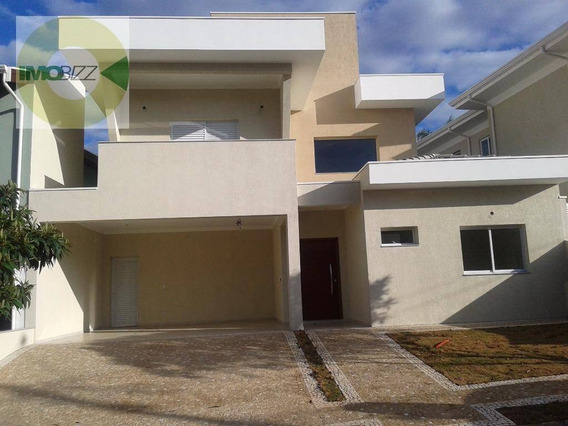 Casa Residencial À Venda, Condomínio Vivenda Das Cerejeiras, Valinhos. - Ca1835