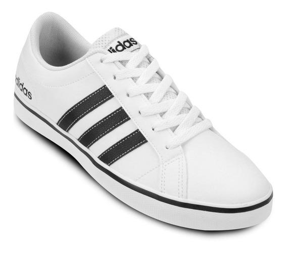 Tênis Masculino adidas Branco Preto Vs Pace + Frete Grátis