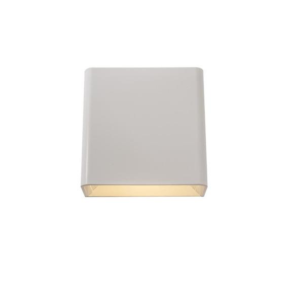 Arandela De Efeito Led 3w Ip65 Branco Fosco Yamamura