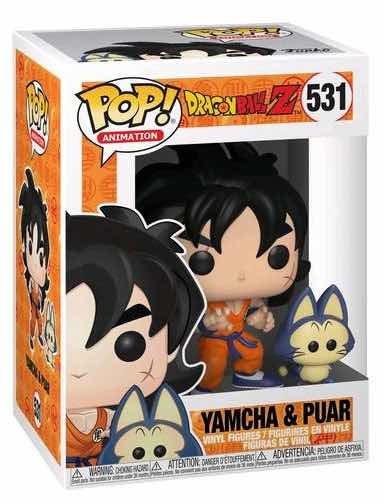 Funko Pop Dragon Ball Yamcha Y Puar 531