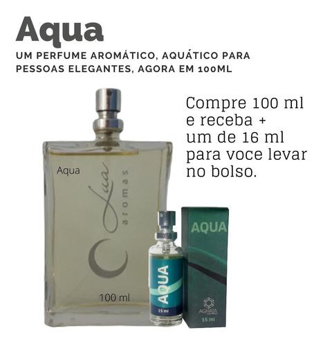 Imagem 1 de 2 de Perfume Aqua 100ml + Brinde Aqua 16 Ml ( Bolso)