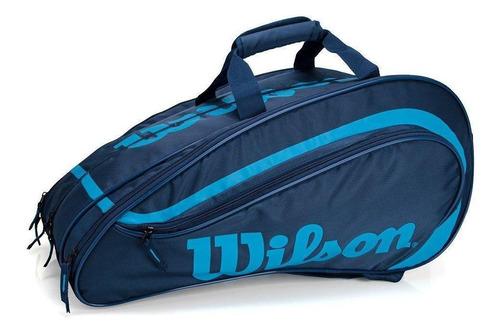 Raqueteira De Padel/beach Tennis Wilson Rak Pak Azul Marinho