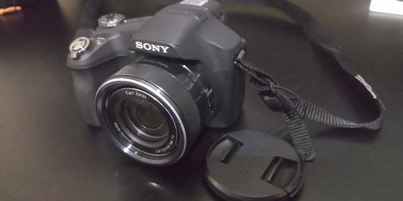 Câmera Sony Cyber-shot Hx100v 16.2 Mp Zoom 30x Vídeo Full Hd