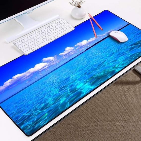 Mousepad Gamer Antiderrapante Personalizado Lindo 35x70 - Escolha Entre Dezenas De Imagens