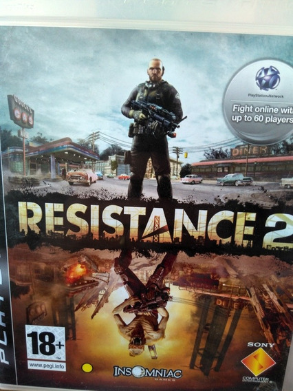 Resistance 2 Ps3 Original , Leia A Descriçao