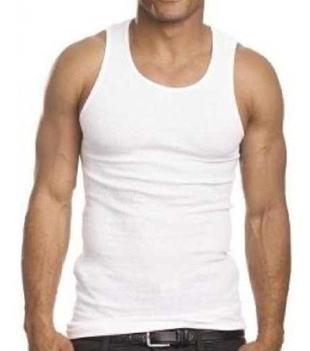 Regata Masculina Branca Ou Preta 100%algodão P/m/g/gg