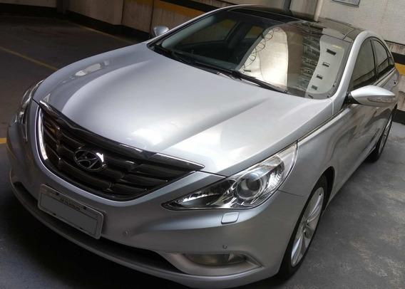 Sonata 2011/2012 Top De Linha Com Multimídia E Kit Gás