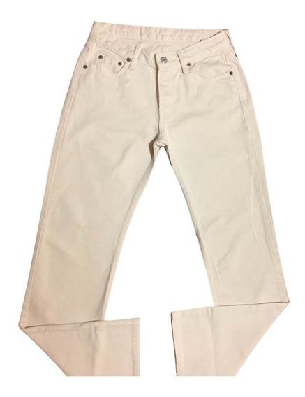 Calça Jeans Levis 513 Feminina 38 Creme Oferta Original