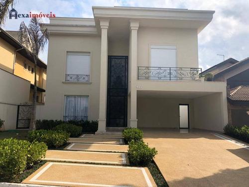 Casa Com 4 Dormitórios À Venda, 420 M² Por R$ 3.700.000,00 - Aldeia Da Serra - Barueri/sp - Ca0070