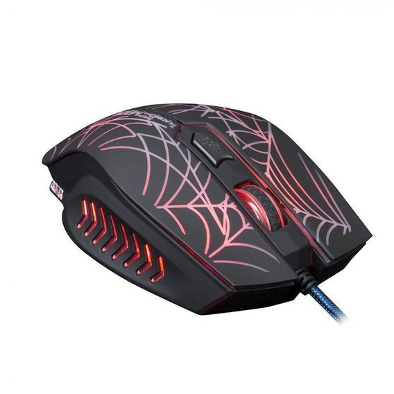 Mouse Gamer Luminoso - Scorpion - Preto