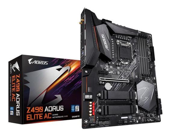Motherboard Gigabyte Z490 Aorus Elite Ac Intel Lga 1200