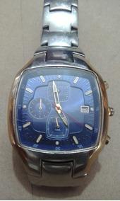Relógio Technos Chronograph Mostrador Azul(399k)
