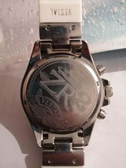 Reloj Vestal En Color Plata Con Blanco